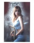 Madeline Smith (Hammer Horror) - Genuine Signed Autograph 8087